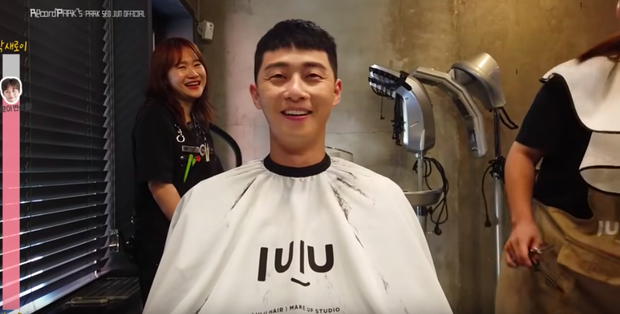 "Watch Park Seo Joon's adorable haircut scene in ""Itaewon Class"""