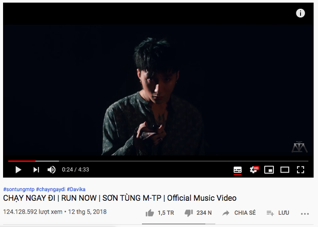 Những MV bị ghét nhất Vpop: K-ICM phá mọi kỷ lục chỉ trong 1 ngày, Sơn Tùng M-TP có tới... 4 sản phẩm nằm top - Ảnh 17.