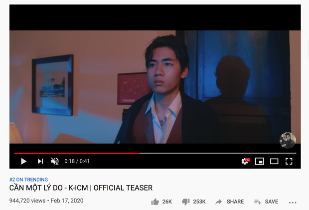 Teaser của K-ICM lên thẳng top 2 trending sau 12 tiếng với lượng dislike gấp 10 lần like, toàn bộ bình luận chỉ có... From Jack With Love - Ảnh 6.