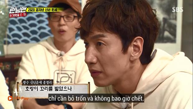 Giật mình với lời thầy bói phán về Lee Kwang Soo trong Running Man trước khi gặp tai nạn! - Ảnh 2.