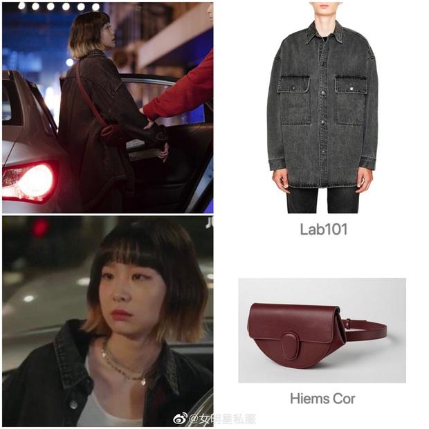 Tính tình đã hay ho, điên nữ Jo Yi Seo của Tầng Lớp Itaewon lại còn ăn mặc chất chơi, dát toàn hàng hiệu xịn sò từ đầu đến chân - Ảnh 9.