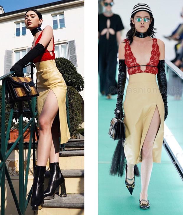 IU và Mai Davika ngồi cạnh nhau trên front row show Gucci nhưng vòng 1 sexy bức người của mỹ nhân Thái mới là nhân tố hot nhất - Ảnh 9.
