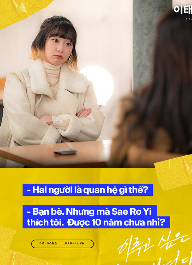 Nhắn chị bạn thân 10 năm ở Itaewon: Bằng đó thời gian không chốt đơn thì dạt ra cho em nữ điên yêu anh chủ Ro Yi dùm! - Ảnh 4.
