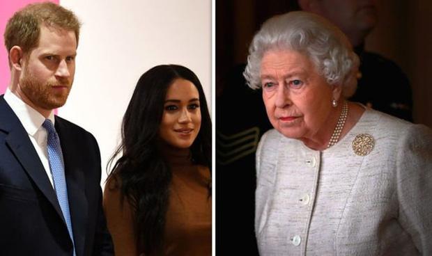 Nữ hoàng Anh ra động thái mới, cấm vợ chồng Meghan Markle sử dụng thương hiệu Hoàng gia để làm cần câu cơm? - Ảnh 1.