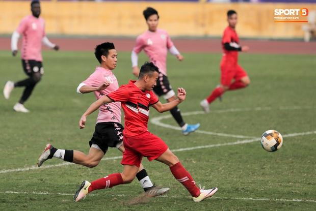 Quang Hải không khoẻ, tái phát chấn thương từ SEA Games, Hà Nội FC bị Viettel cầm hoà trong trận giao hữu - Ảnh 5.