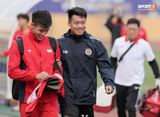 Quang Hải không khoẻ, tái phát chấn thương từ SEA Games, Hà Nội FC bị Viettel cầm hoà trong trận giao hữu - Ảnh 4.