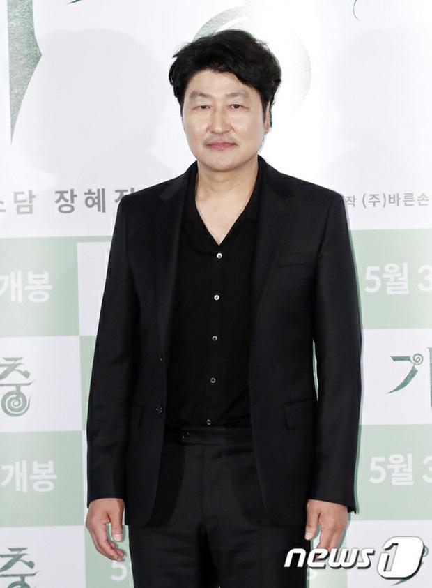 Parasite họp báo hoành tráng tại Hàn sau kì tích Oscar: Phóng viên đông khủng khiếp, chú Bong chiếm trọn spotlight! - Ảnh 5.