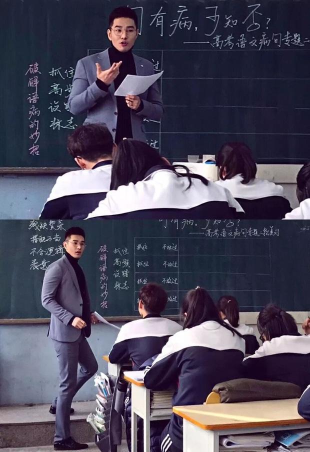 Thêm một thầy giáo gây sốt với ngoại hình đậm chất soái ca, biết profile lại càng trầm trồ hơn nữa - Ảnh 3.
