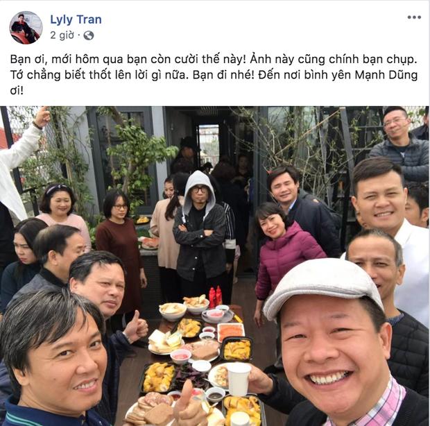 NSND Công Lý, diva Mỹ Linh cùng dàn nghệ sĩ Việt xót xa khi hay tin NSƯT Mạnh Dũng qua đời vì bị sát hại - Ảnh 2.