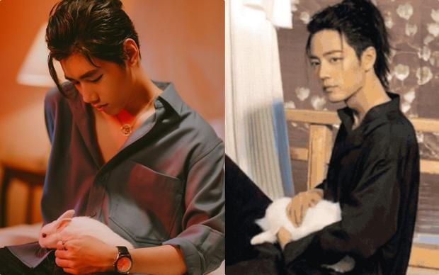 Vừa thay đổi hình tượng mới, K-ICM đã bị netizen tố đạo nhái bộ ảnh của diễn viên Trần Tình Lệnh vì như... hai anh em sinh đôi? - Ảnh 3.