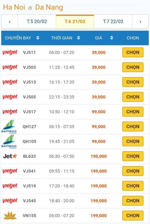 Giá vé máy bay đồng loạt giảm kỷ lục, Hà Nội – TP.HCM chỉ còn 199 ngàn đồng - Ảnh 3.