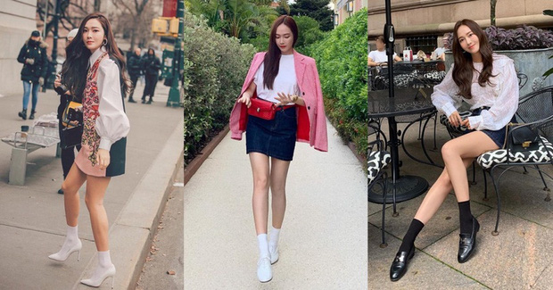 Kỹ năng chọn giày của Jessica khiến ai nấy đều bái phục: Cao 1m6 mà nhìn không thua gì 1m7 - Ảnh 4.