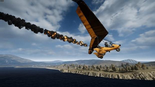 PUBG: Tất tần tật những điều cần biết về chiếc tàu bay siêu đỉnh Motor Glider - Ảnh 7.
