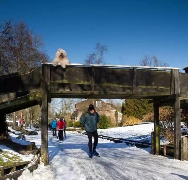 Thị trấn cổ tích Giethoorn ở Hà Lan: Hơn 7 thế kỷ không có đường bộ, đi thăm nhau không ngồi ô tô mà phải chèo thuyền - Ảnh 9.
