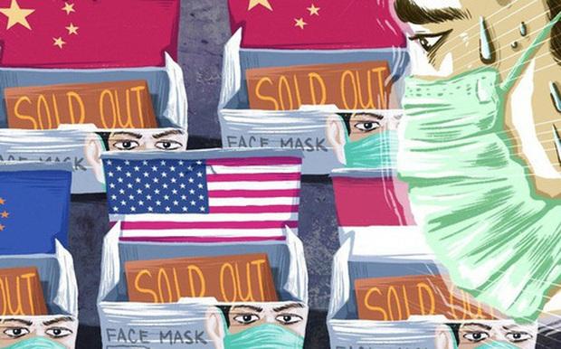 Cơn khát khẩu trang ở Trung Quốc: Người dân sang nước khác tìm kiếm, doanh nghiệp than trời vì thiếu nguyên liệu, kho dự trữ khắp thế giới cạn kiệt - Ảnh 1.