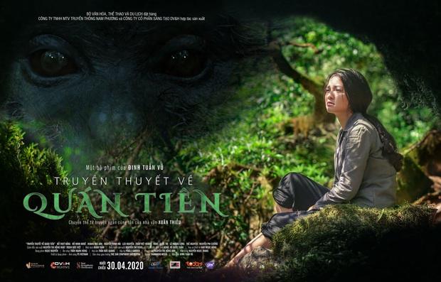 Rùng mình màn cảnh báo khỉ hiếp trong rừng của hội ba cô gái ở trailer Truyền Thuyết Về Quán Tiên - Ảnh 2.