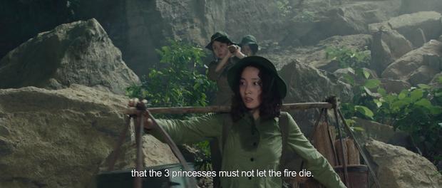 Rùng mình màn cảnh báo khỉ hiếp trong rừng của hội ba cô gái ở trailer Truyền Thuyết Về Quán Tiên - Ảnh 3.