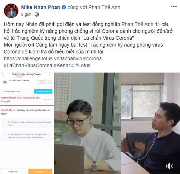 Thêm nhiều nghệ sĩ cùng hưởng ứng tham gia trả lời trắc nghiệm về virus Corona: Chi Pu, Khánh Vân hay Puka có điểm số xuất sắc hơn? - Ảnh 14.