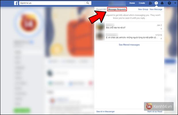 Facebook có một nơi ẩn giấu những tin nhắn Messenger bị bơ bấy lâu nay, mấy ai biết chỗ tìm ra chúng? - Ảnh 1.