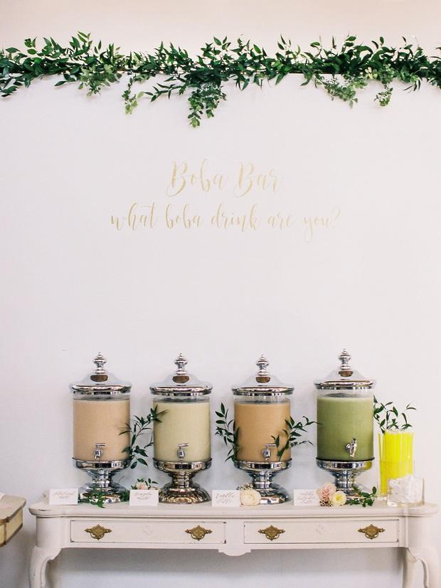 """Đám cưới đãi bia rượu là xưa rồi, giờ phải hâm nóng tình yêu bằng… trà sữa trân châu trong ngày lễ trọng đại mới """"đúng gu""""! - Ảnh 7."""