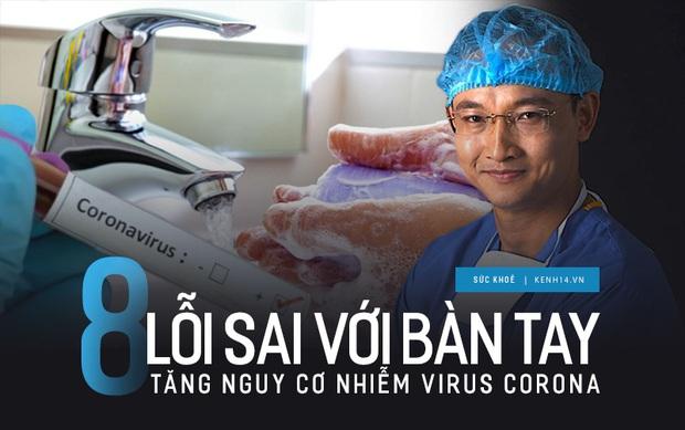 Bác sĩ chỉ ra 8 lỗi sai phổ biến với bàn tay làm tăng nguy cơ lây nhiễm virus Corona - Ảnh 3.