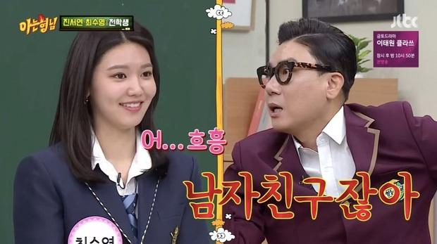 Hẹn hò đã 8 năm, Sooyoung (SNSD) vẫn ngại ngùng khi nhắc về bạn trai trên sóng truyền hình - Ảnh 1.