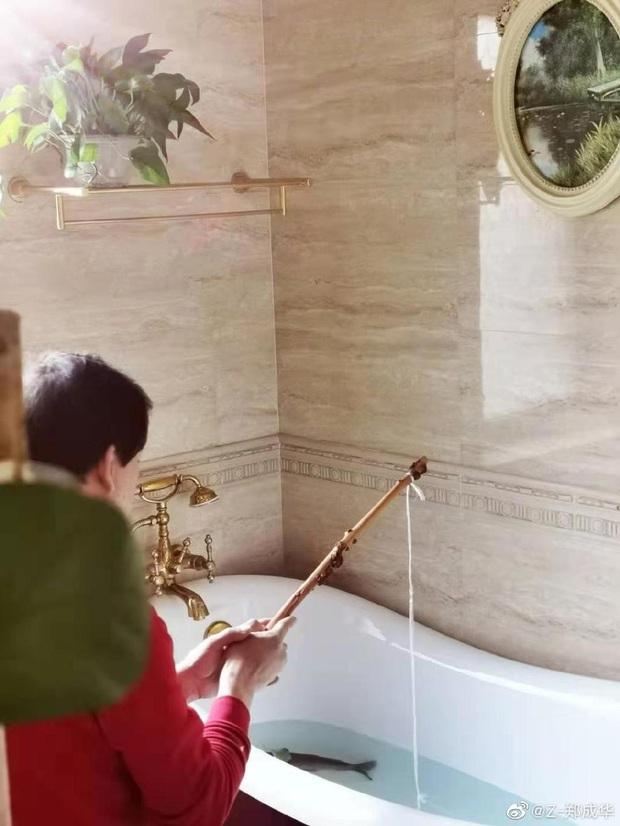 Sao Cbiz giữa đại dịch Corona: Không ai dám ra ngoài, bố Trịnh Sảng câu cá trong nhà, Huỳnh Hiểu Minh làm việc đáng khen - Ảnh 6.