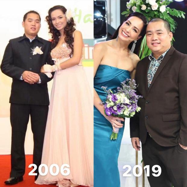 10 cặp vợ chồng Vbiz gắn kết hơn 1 thập kỷ: Chuyện tình Hà Tăng đẹp phim, Hồ Hoài Anh - Hương Giang xa để lại về với nhau - Ảnh 34.