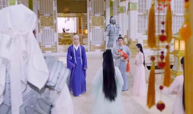 Biệt đội thần tiên ở Chẩm Thượng Thư đồng loạt đeo khẩu trang phòng dịch - Ảnh 2.
