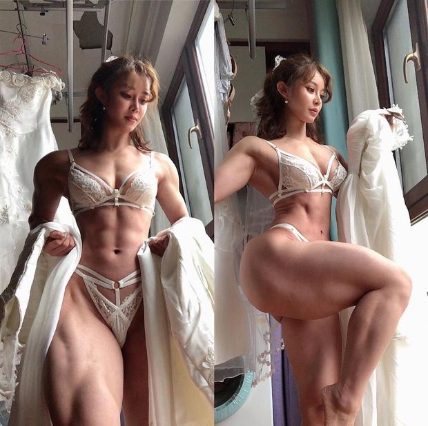 Nữ bác sĩ mặt thiên thần, body cơ bắp của Trung Quốc thông báo tin cực vui về virus corona, đã trở lại tập luyện sau thời gian tối mặt vì đại dịch - Ảnh 6.