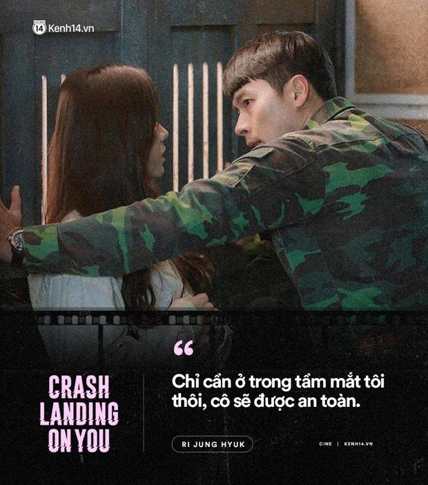 11 câu thoại ngọt ngào nhất Crash Landing on You: Người ấy có mệnh hệ gì, mỗi ngày đời con đều là địa ngục - Ảnh 1.