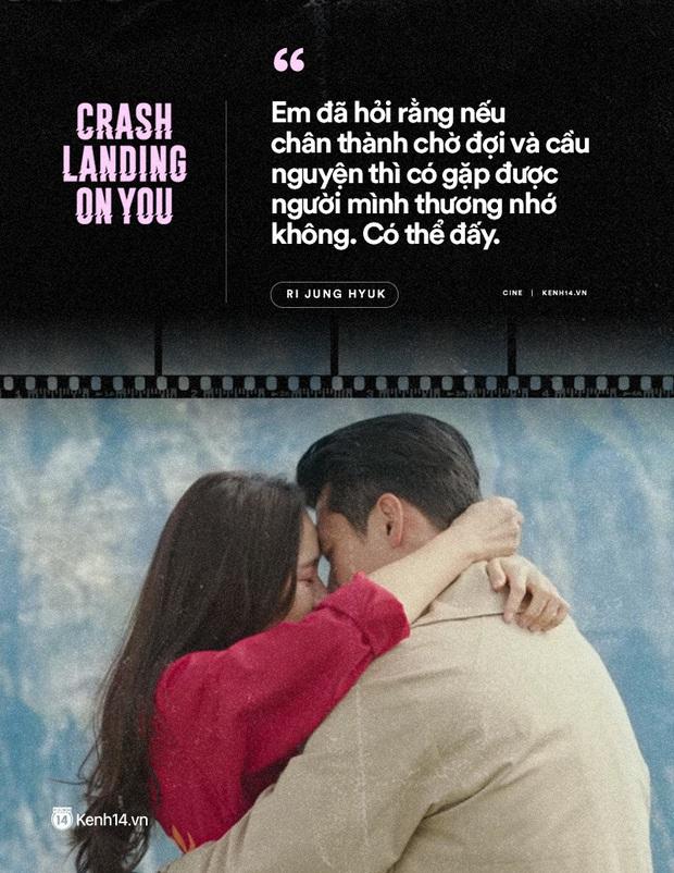 11 câu thoại ngọt ngào nhất Crash Landing on You: Người ấy có mệnh hệ gì, mỗi ngày đời con đều là địa ngục - Ảnh 2.