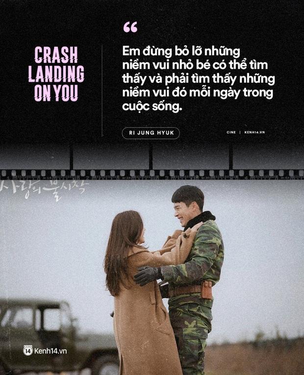 11 câu thoại ngọt ngào nhất Crash Landing on You: Người ấy có mệnh hệ gì, mỗi ngày đời con đều là địa ngục - Ảnh 3.