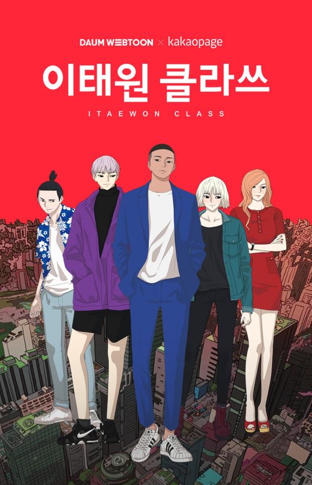 Phim chuyển thể Tầng Lớp Itaewon vừa đạt rating kỉ lục, bản web toon lập tức sốt trở lại - Ảnh 4.