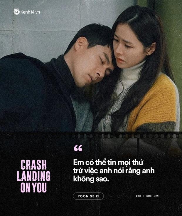 11 câu thoại ngọt ngào nhất Crash Landing on You: Người ấy có mệnh hệ gì, mỗi ngày đời con đều là địa ngục - Ảnh 5.