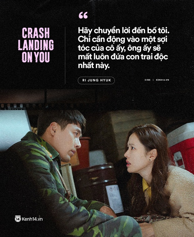 11 câu thoại ngọt ngào nhất Crash Landing on You: Người ấy có mệnh hệ gì, mỗi ngày đời con đều là địa ngục - Ảnh 8.