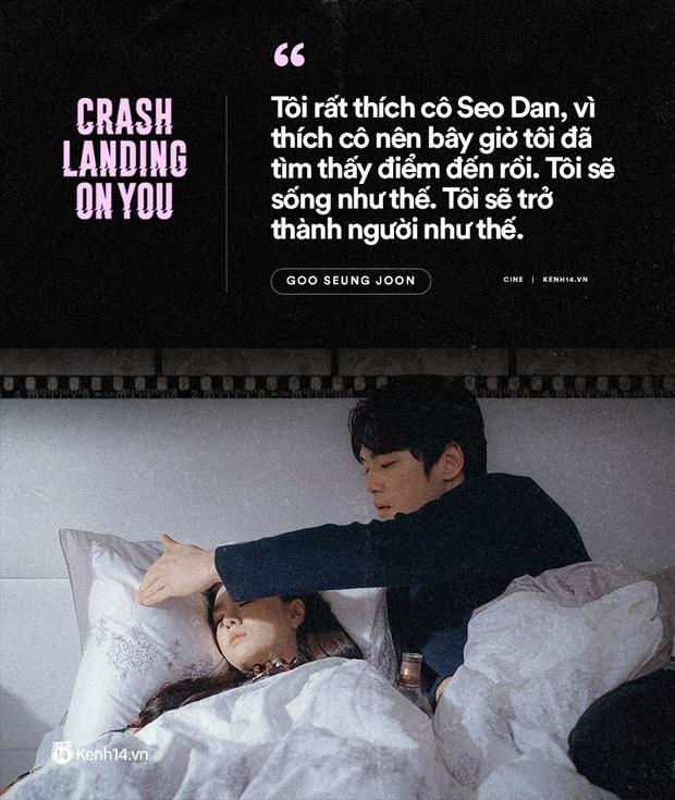 11 câu thoại ngọt ngào nhất Crash Landing on You: Người ấy có mệnh hệ gì, mỗi ngày đời con đều là địa ngục - Ảnh 10.