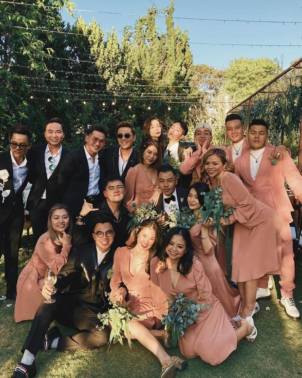 Hội bạn thân quyền lực showbiz tụ về đám cưới Tóc Tiên - Touliver: Tiệc này khách mời được toả sáng 100%, cô dâu chú rể nhường hết - Ảnh 1.