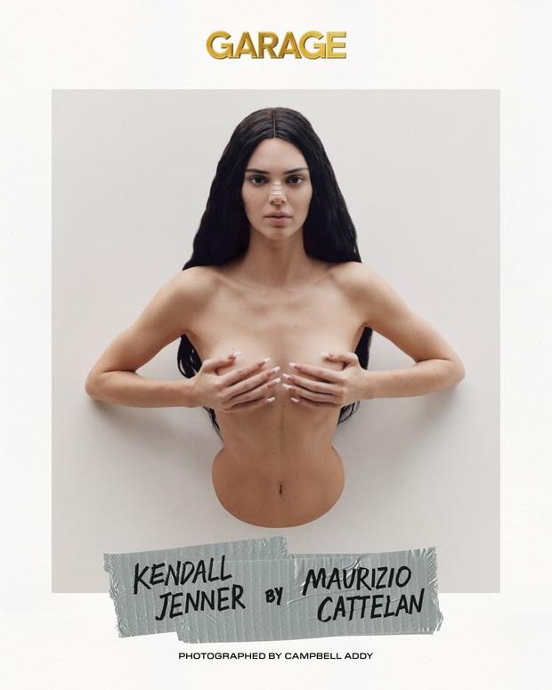 Sang chấn với bộ ảnh mới của Kendall Jenner: Concept dị gây lú, phô bày vòng 1 quá sức bạo liệt - Ảnh 1.