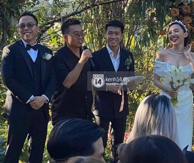 Khoảnh khắc độc quyền Touliver bật khóc trong vòng tay của cô dâu xinh đẹp Tóc Tiên, cái kết viên mãn sau 5 năm gắn bó! - Ảnh 1.