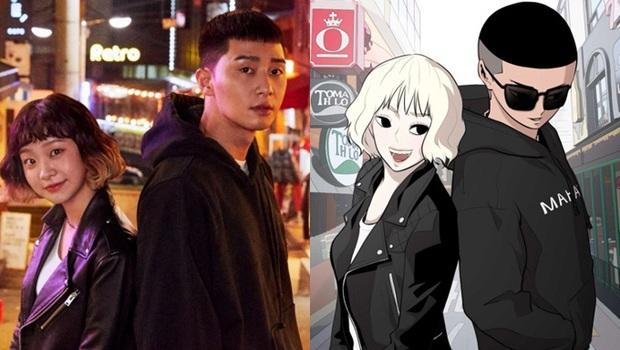 Phim chuyển thể Tầng Lớp Itaewon vừa đạt rating kỉ lục, bản web toon lập tức sốt trở lại - Ảnh 2.