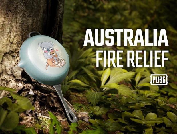 PUBG Corp gây quỹ hỗ trợ khắc phục hậu quả cháy rừng tại Australia với skin chảo Koala cực dễ thương - Ảnh 2.