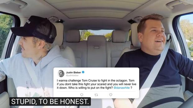 Justin Bieber thừa nhận mình ngu ngốc khi bị nhắc lại vụ khiêu chiến với Tom Cruise - Ảnh 3.