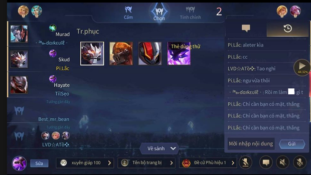 Liên Quân Mobile: Garena sửa xong bộ lọc chat, game thủ được dịp đấu võ mồm và tố cáo nhau - Ảnh 3.