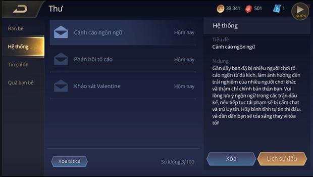 Liên Quân Mobile: Garena sửa xong bộ lọc chat, game thủ được dịp đấu võ mồm và tố cáo nhau - Ảnh 4.
