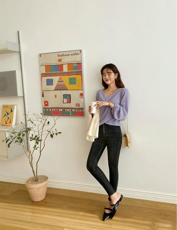Quần skinny jeans có dấu hiệu hot trở lại và 12 cách diện bạn nên cập nhật ngay để sành điệu chẳng kém ai - Ảnh 4.