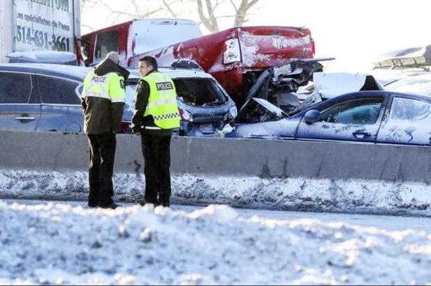 200 xe đâm liên hoàn: 2 người chết, 70 người bị thương - Ảnh 9.