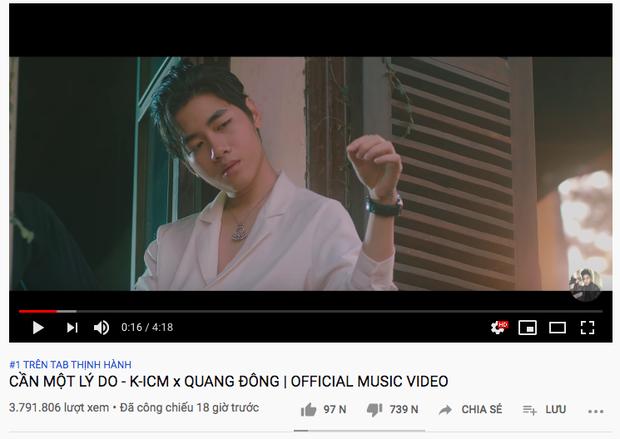 MV mới của K-ICM là MV bị dislike nhiều nhất lịch sử nhạc Việt chỉ trong 18 giờ, vượt kỷ lục trước đó do chính mình lập nên! - Ảnh 3.