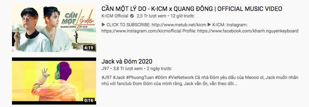 MV mới của K-ICM và người thay thế Jack trụ vững #1 trending sau 12 tiếng, lọt top 18 MV xem nhiều nhất thế giới - Ảnh 3.