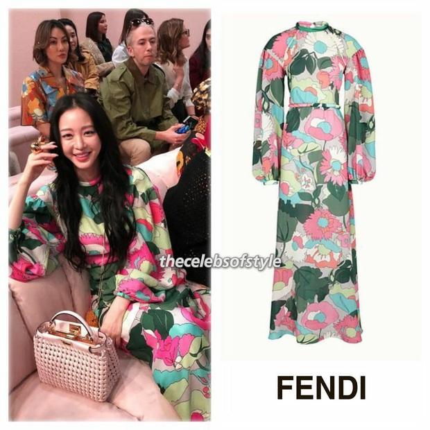 Milan Fashion Week: Park Min Young bỗng hóa một mẩu vì bộ cánh dìm dáng, Han Ye Seul diện váy sến nhưng vẫn đẹp - Ảnh 9.